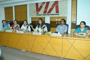 Ms. Deepali Masirkar- DCP Economic Cell & Cyber crime addressed VIA LEW members