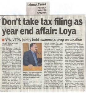 Tax forum